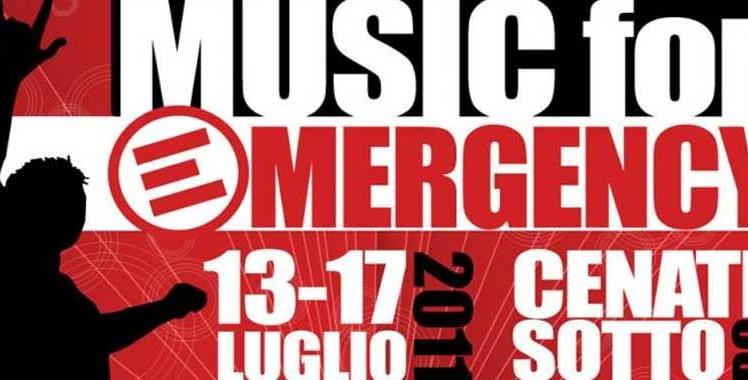 Ribo per Music for Emergency 2011